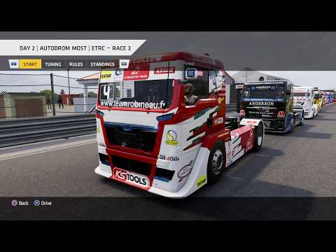 Truck Racing Championship - ETRC Round 5: Autodrom Most, Day 2 Race 3 * No Commentary Long Play