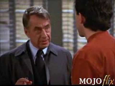 One of the funniest guest spots in sitcom history: Philip Baker Hall as Lt. Bookman on Seinfeld.