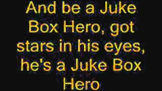 Juke Box Hero - Foreigner lyrics
