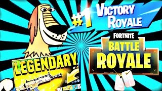DUKEY FROM JOHNNY TEST GETS A VICTORY ROYALE IN FORTNITE