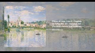 Pièces de viole, Livre II