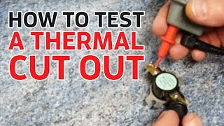 Electric Showers: How to Test a Thermal Cut Out (TCO)