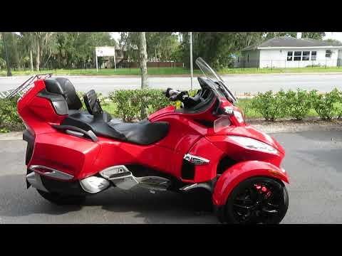 2011 Can-Am Spyder® RT Limited in Sanford, Florida - Video 1