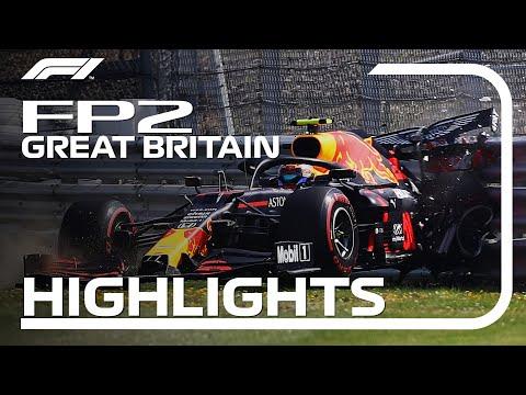 F1 2020 第4戦イギリスGP FP2ハイライト動画