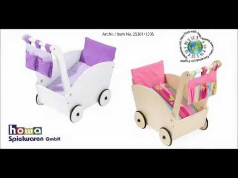 howa ® Montageanleitung Puppenwagen, Art.Nr.25301/1505 assembly instructions Doll´s pram,