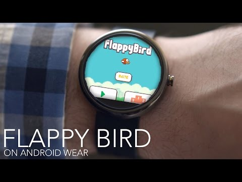 Flappy Bird Is Probably The Perfect Smartwatch Game