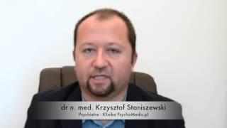 Zaburzenia snu - psychiatra dr n. med. Krzysztof Staniszewski - psychiatra Warszawa