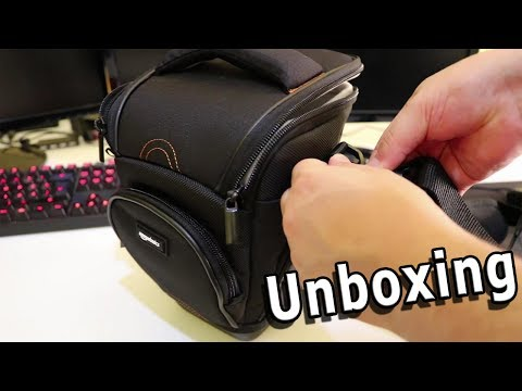 UNBOXING - CUSTODIA AMAZON BASICS PER FOTOCAMERA REFLEX