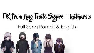 Gambar cover Tokyo Ghoul Re: Season 2 Op FULL - Katharsis Lyrics ENGLISH & ROMAJI