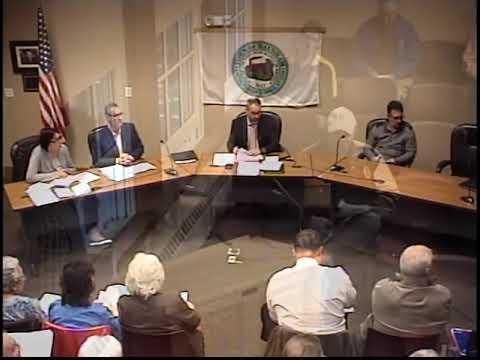 Pre-Town Meeting 05/14/19
