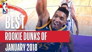 Best NBA Rookie Dunks   January 2018