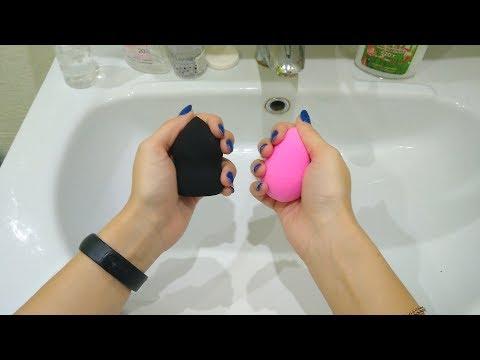 2 простых способа, как быстро очистить спонж бьюти блендер