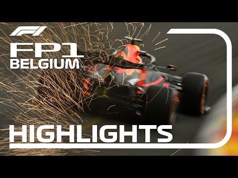 F1 第12戦ベルギーGP(スパ・フランコルシャン)フェルナンドアロンソのオンボード映像