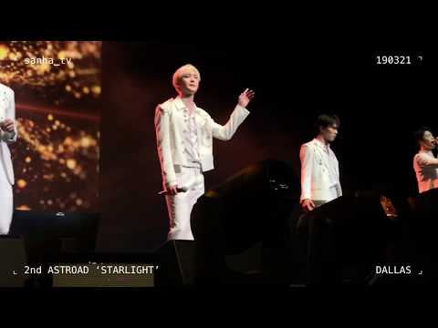 [SANHA FOCUS] Love Wheel – ASTRO @ 2nd ASTROAD 'Starlight' In DALLAS (19.03.21)