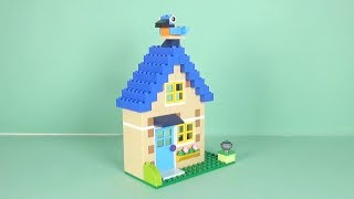 LEGO House Building Instructions - LEGO Classic 10717 How To