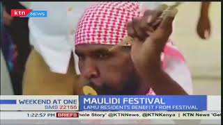 Lamu residents benefit from the Maulidi festival