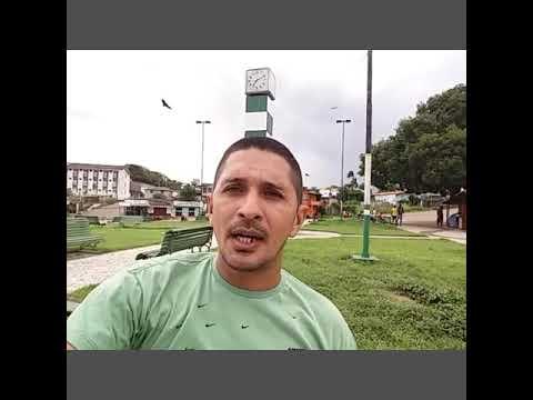 Registrando esse momento maravilhoso, na pracinha do relógio em Almeirim  - Pará.