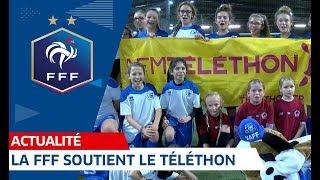 La FFF, la Ligue et le VAFF en soutien du Téléthon 2018