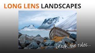 long lens landscape