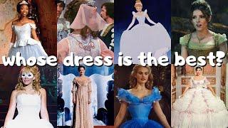 Ranking 10 Different Versions Of Cinderellas Ballgown 💎💫🧚🏻♀️