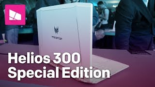 Acer Predator Helios 300 Special Edition gaming laptop hands-on