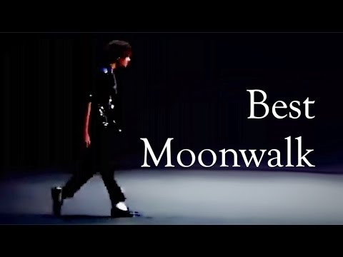 BEST Moonwalk by a Michael Jackson Impersonator - - - AND
