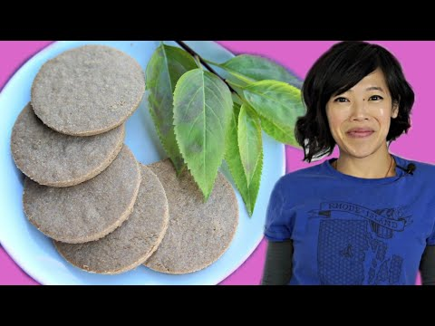 Nordic PINE BARK Cookies - sawdust cookies? | HARD TIMES - recipes from times of scarcity