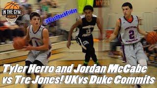 Tyler Herro and Jordan McCabe vs Tre Jones! Tons of D1 Talent in One Game (#FlashbackFriday)