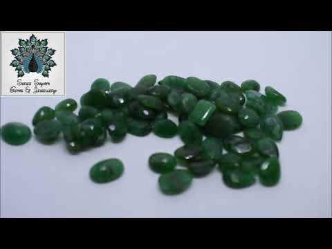 Natural Emerald Green Gemstone