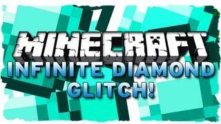 Minecraft: INFINITE DIAMOND GLITCH! (MC 1.5.1 Tutorial)
