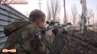 An alarm raised militia TANKS !! Donbass Donetsk Lugansk Ukraine News Today