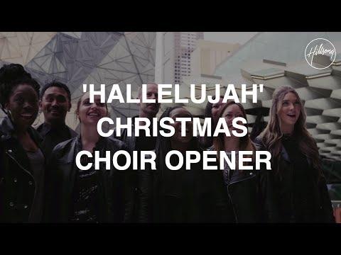 Hallelujah Christmas Choir Opener Hillsong Worship Chords