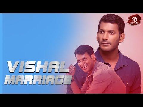 Vishal Marriage Details Here ! Vish..
