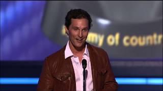 Matthew McConaughey, Carrie Underwood & George Strait's Boots - ACM Awards
