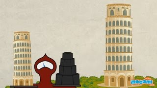 Leaning Tower of Pisa History and Facts - Fun Facts for Kids | Educational Videos by Mocomi