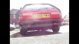 Ford Fiesta XR2 redex clag