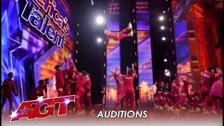 V.Unbeatable: Indian Kids From The Slums Realize Their Dream In America! | America's Got Talent 2019
