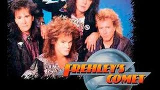 "FREHLEY'S COMET  TIME AIN'T RUNNIN' OUT  ""HIGH QUALITY"""