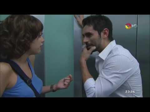 Lobo - Lucas encara a Ana en el ascensor