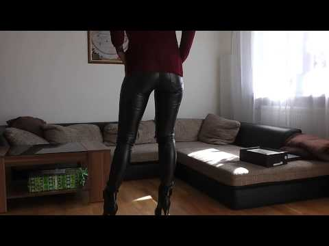 Danielas FashionCheck #027:  Booties (Ankle-Boots/High-Heel/Plateau)/Treggings