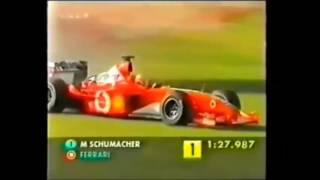 Смотреть онлайн Серьезная авария Михаэля Шумахера
