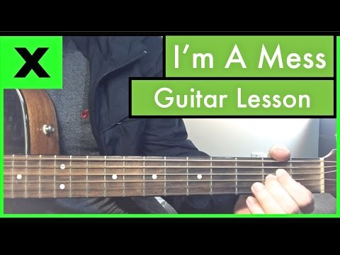 "Ed Sheeran - ""I'm A Mess"" 