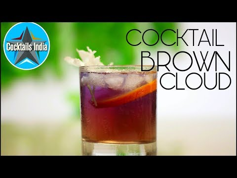 How to make Brown Cloud coktail | Cocktail with Red Bull | Dada Bartender