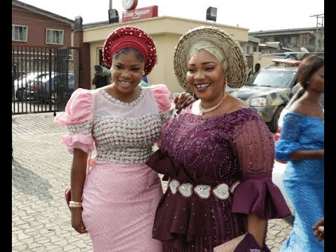 Eniola Ajao,Afeez Owo & Other Nollywood Actress Outfit To wedding Carnival
