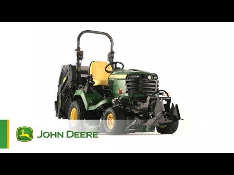 Il Trattorino Tosaerba Diesel X950R John Deere - La la soluzione ideale per i lavori più duri!