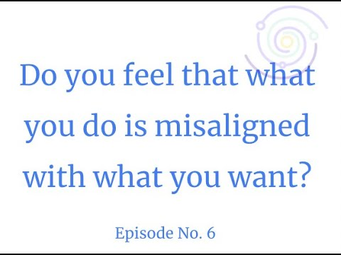 If you feel disconnected from yourself, this video can help. Do you feel that what you do is misaligned with what you want? It's a terrible feeling, I was there.  I found the way to get out from that self-imposed prison, where I was feeling disconnected a