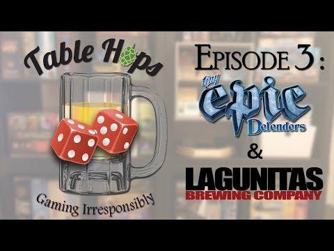 Tiny Epic Defenders (2nd Edition) & Lagunitas - Board Game & Beer Pairing