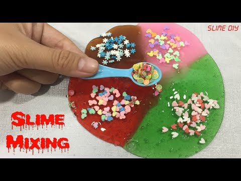 Diy no glue clear slime how to make peel off face mask slime floam slime mixing most satisfying slime videos diy how to make ccuart Images