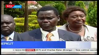 North Rift MPs happy with the retention of Henry Rotich and Charles Keter in the Cabinet