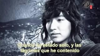 MVThe Faith OST   Shin Yong Jae Because my steps are slow sub español